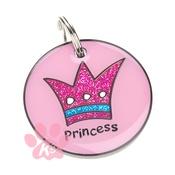 K9 - K9 Princess Dog ID Tag