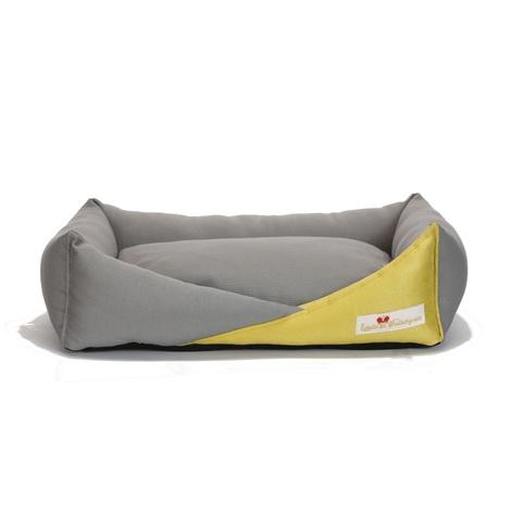 Bonheur Modern Dog Bed - Nickel 2