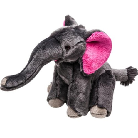 Fluff & Tuff Plush Dog Toy – Edsel the Elephant