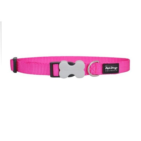 Plain Dog Collar - Hot Pink