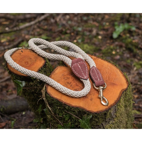 Rope lead (braided) - Ivory 2