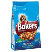 Bakers - Complete Duck & Vegetables Dog Food x 4