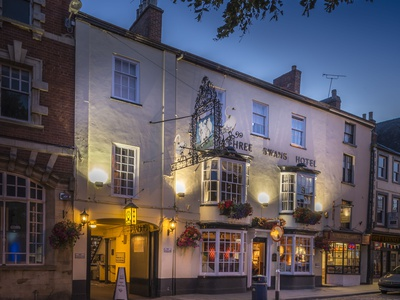 Three Swans Hotel, Market Harborough, Market Harborough