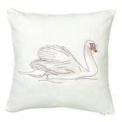 Stefanie Pisani - Swan Cushion
