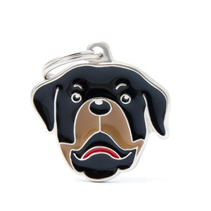 Rottweiler Engraved ID Tag