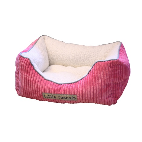 Little Rascals Sweet Dreams Pet Bed – Pink