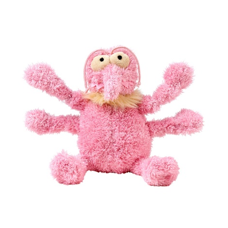Scratchette the Flea Plush Dog Toy - Pink