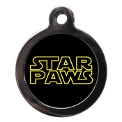 PS Pet Tags - Star Paws Dog ID Tag
