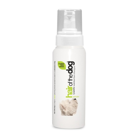 Hair of the Dog Waterless Foam Shampoo – Soft Aloe