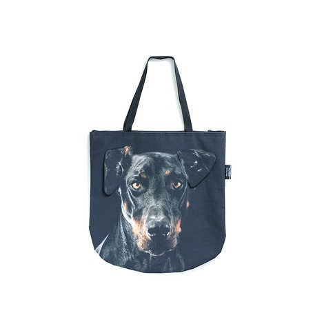 Zeus the Doberman Dog Bag