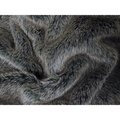 Faux-Fur & Fleece Dog Blanket - Charcoal 2