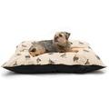 Grouse Linen Pillow bed 2