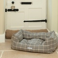 Slate Tweed Boxy Bed  2