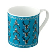 Lisa Bliss - Stag Mug in Teal