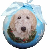 NFP - Goldendoodle Christmas Bauble