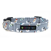 Ditsy Pet - Snowman Clasp Dog Collar