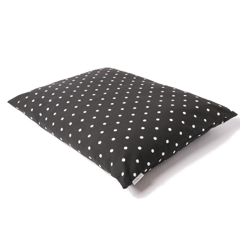 Cotton Top Day Bed - Dotty Charcoal 2