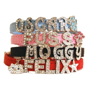 Personalised Cat Collar - Pink