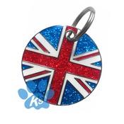 K9 - Union Jack ID Tag