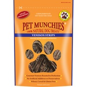 Pet Munchies - 3 x Venison Strips 75g