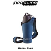 H204K9 - Steel Blue Water Bottle Sling Holder