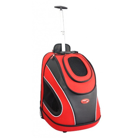 Mobile Pet Carrier in Red 2