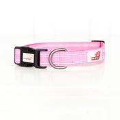 Long Paws - Comfort Padded Dog Collar – Pink