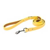 Auburn Leathercrafters - Tuscany Leather Dog Lead – Yellow