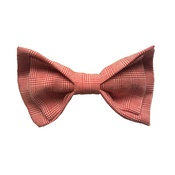 Dapper Pets - Red Check Dog Bow Tie