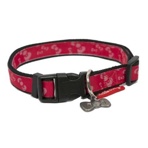Hello Kitty Premium Bow Design Dog Collar 2