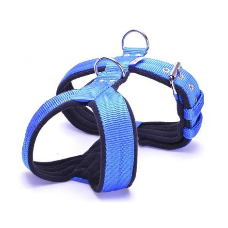 4cm Width Fleece Comfort Dog Harness – Royal Blue