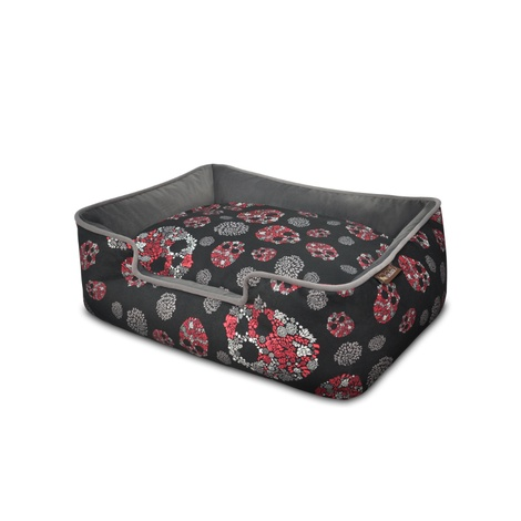 Skulls & Roses Lounge Bed  3