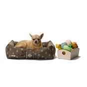 Katalin zu Windischgraetz - Cantatis Dog Bed - Tan & Ivory