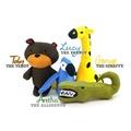 Aretha the Alligator Squeaky Plush Dog Toy 4