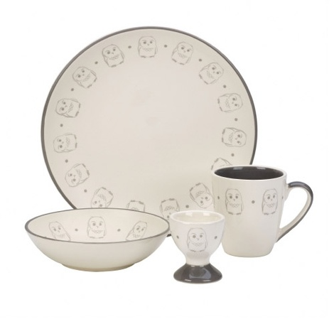 Owl Crockery set