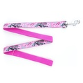 Pink Orchard Dog Lead
