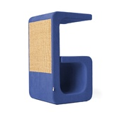 Catworks - Scratching Post - Letter G - Blue