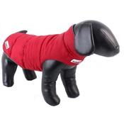Doodlebone - Combi-Puffer Reversible Dog Jacket – Claret & Charcoal