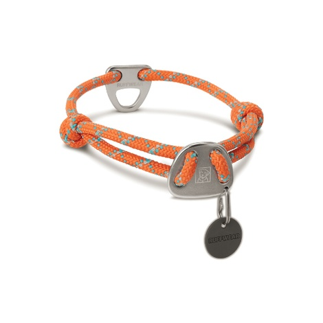 Knot-a-Collar - Pumpkin Orange