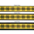 Scottish McLeod of Lewis Tartan Dog Collar – Black 2