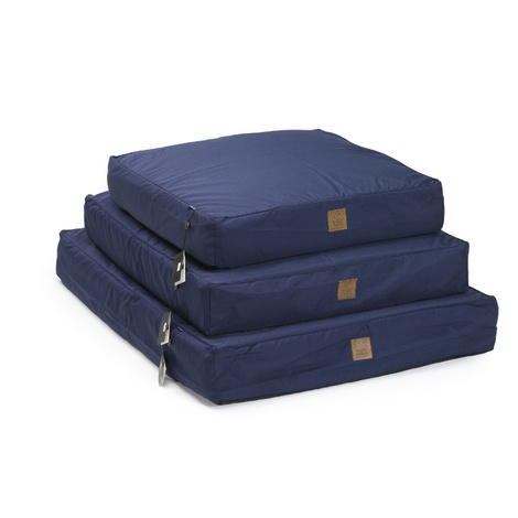 Navy Deep Filled Water Resistant Dog Bed 2