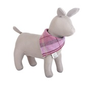 Teddy Maximus - Pink Shetland Wool Neckerchief