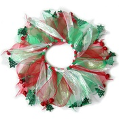 NFP - Christmas Scrunchie Party Pet Collar