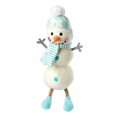 Snowman Jumbo Plush Dog Toy