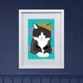 Framed Bespoke Pet Portrait 2