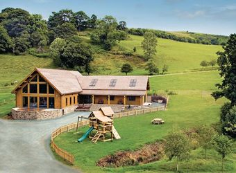 Black Hall Lodges, Shropshire