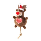 House of Paws - Rudolph Snowball Dog Toy
