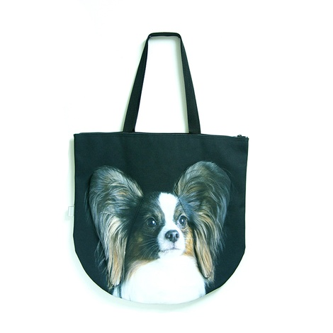 Angelina the Papillon Dog Bag