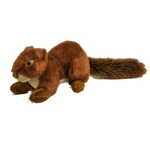 Fluff & Tuff Plush Dog Toy – Nuts the Squirrel