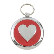 Tagiffany - Smarties Red Heart Pet ID Tag